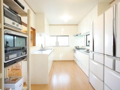 キッチン とても広い充実した設備