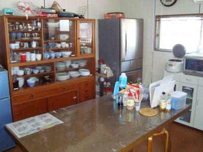 キッチン、家電、食器すべて用意できています。