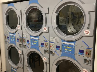 乾燥機もあります。100円/7分。